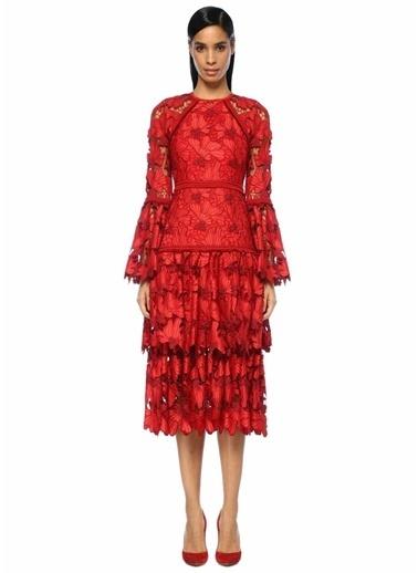 Alexis Elbise Kırmızı